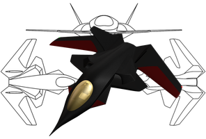 V-700 Victory-type fighter by MikomDude