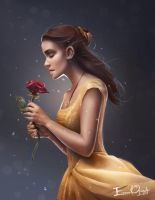 Belle. The one to break the spell. by Emmanuel-Oquendo