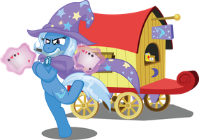 A Magician named Trixie by T-3000