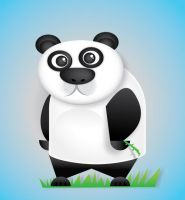 Vector Panda by catapurr