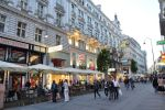 Evening on Kaerntnerstrasse - Vienna by Rikitza