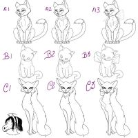 Chessire cat tattoo sheet 2 by Mean-cat