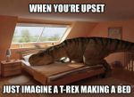 T-Rex Can't by CrashQueen1