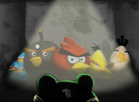 Angry Birds by Pumaboy3d