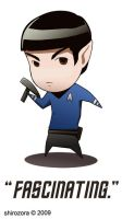 Spock Has A Phaser by Shirozora