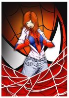 Spider MJ by kent-of-artload