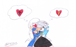 Marie x Hector: a Key to your Heart by sonic4ever760