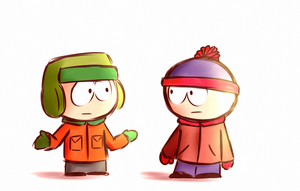 Kyle and Stan by aq1746950