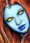 Mystique by gillysilver