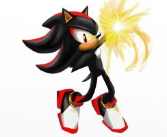 Shadow the hedgehog by silversonic2000