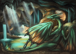 Dragon Caves by ArtofNyra