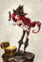 MISS FORTUNE by yuh515
