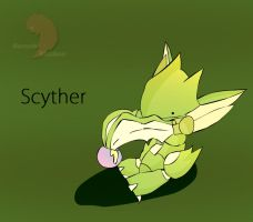 scyther: blades of cuteness by berzerk-Blaziken