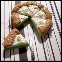 Key Lime Pie Charms by BloodCross
