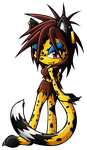 .:AT: Sasha The Cheetah:. by XxRubytheRabbitxX