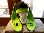 Biohazard Bunny Hat by Allyson-x