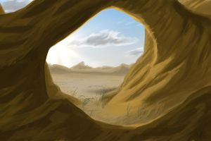 Desert Arch by Frogger1093