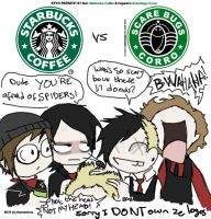 Starbucks vs ScareBugs by Chocoreaper