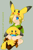 :: Link-achu :: by shadowmyboyfriend