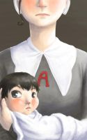 classwork: The Scarlet Letter by Kaede-chama