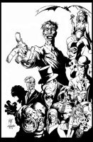 Batman Rogues Gallery Hunt Rubinstein by KenHunt