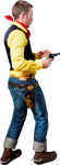 Lucky Luke Cowboy Stock by pixelmixtur-stocks