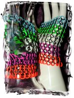Chainmaille Strechy Gloves by kinyo-spoons