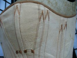 Detail of onion corset by Anique-Miree