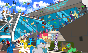 Musicians of Bronycon 2013 by Pustulioooooo