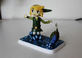 Link Sculpture by Cloudyh