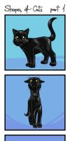 Cats shapes part1 2015 by Keymagination