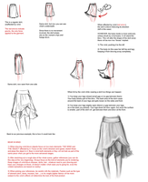 Wind blown clothing tutorial (sort of) by zapatones