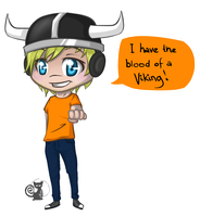 Pewd's a Viking by Mudzi