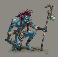 Troll Sorcerer by paulo-peres