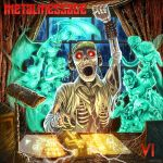 METAL MESSAGE FRONT COVER ART by joeytheberzerker