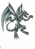 Red Eyes Black Metal Dragon by Azure-Dragon-Seiryu