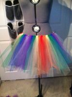 Rainbow Dash Tutu by rikku894