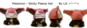 3rd Gen - Skitty Hat by LiliNeko