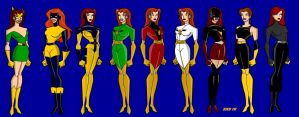 The Metamorphosis of Jean Grey by billiebob72088