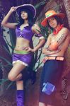 Robin and Ace by Shermie-Cosplay
