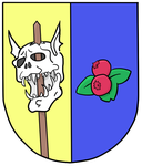 Anvilquested Coat of Arm by dwarfcomic