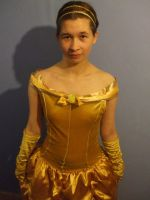 Me as Belle from Beauty and The Beast by Londonexpofan