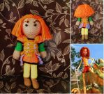 Jane Knitted Plushie by verdant0angel