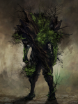Earth Elemental by Isvoc