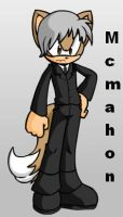 Vince McMahon Sonic Style by sonamy-666