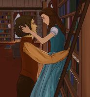 Rumbelle Library by Sugarling