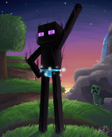 Enderman by Gingastar18