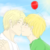 Wherever the Balloon Goes [USUK] by BaisePrinsu
