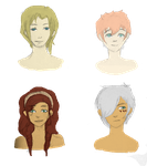 Four of the baes CAH by oO0RyuuHeartsYou0Oo
