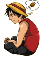 Luffy Still Dreams of MEATS by Super-Cheesepuff
